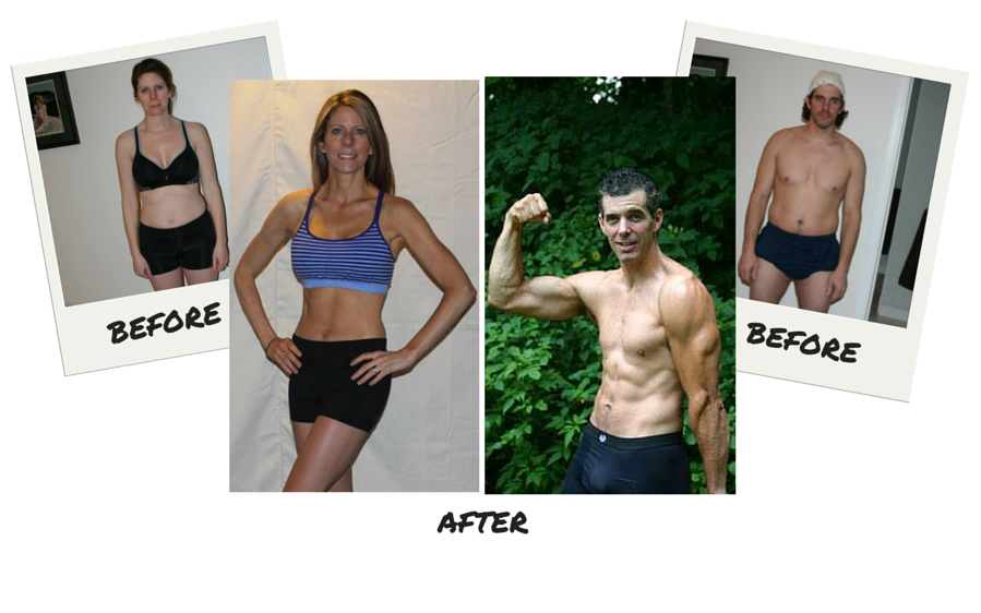 Christine and Greg's P90X Transformation